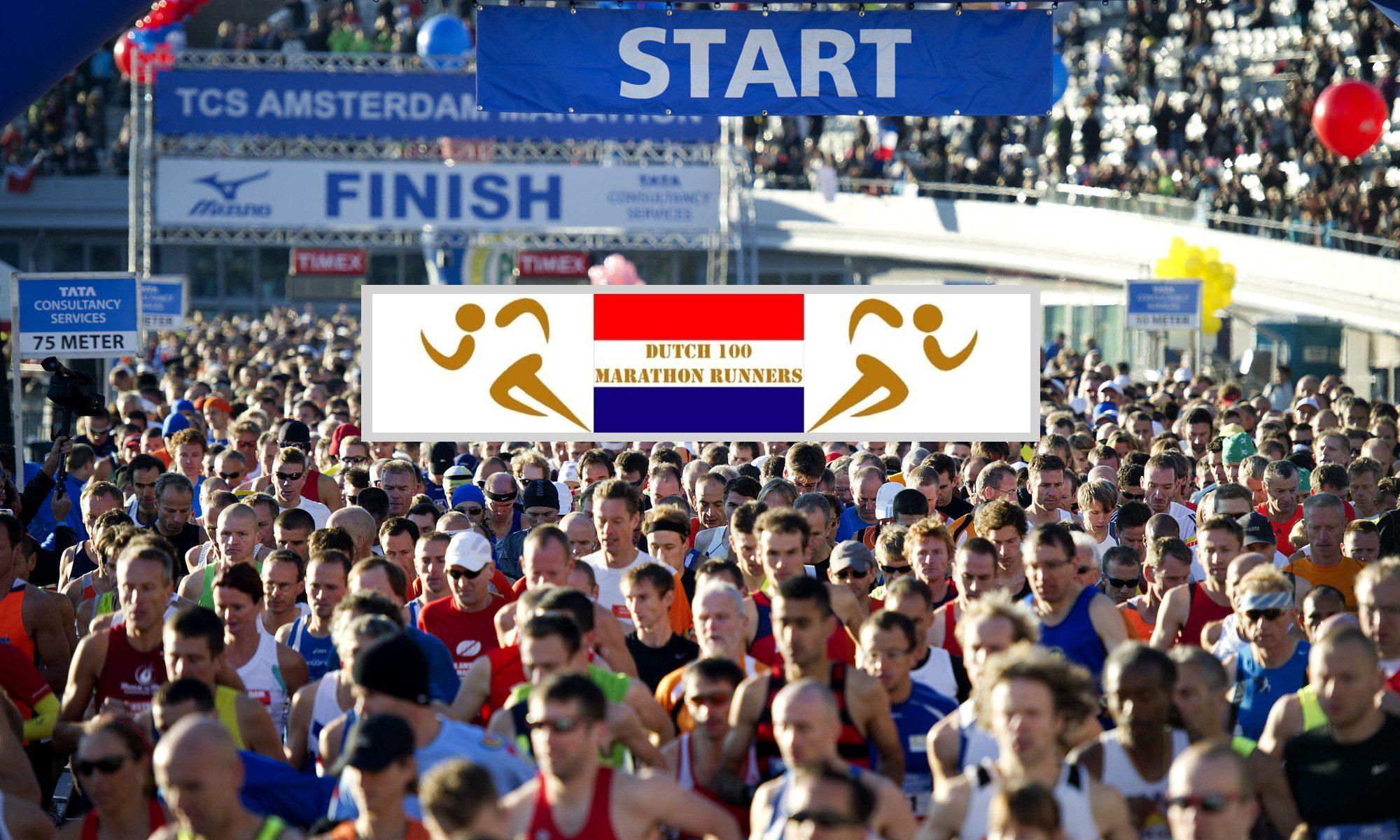 Dutch 100 Marathon Runners
